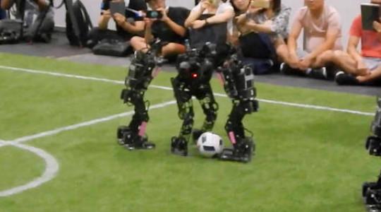 Les Bleus, champions du monde… dans la catégorie robots
