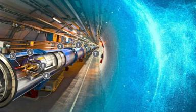 Le LHC a subi deux années de réparation et d'entretien afin de le préparer pour le fonctionnement à 13 TeV (presque le double de son énergie précédente). | CERN