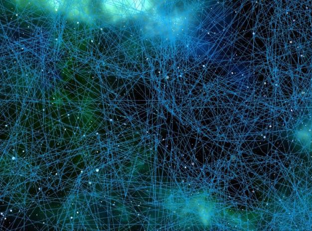 Réseau de neurones artificiels (image d'illustration)  crédit : CREATIVE COMMONS